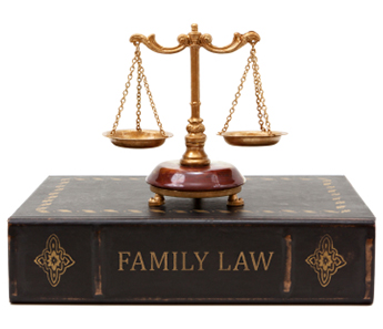 Scales On a Family Law Book